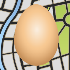 Egg Maps logo